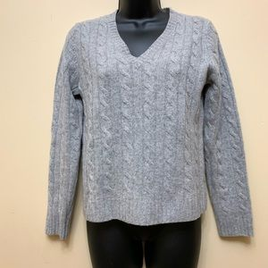 Evelyn Grace Braided Cashmere Sweater